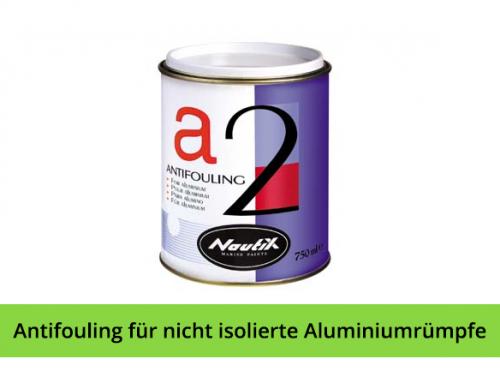 Antifouling für nicht isolierte Aluminiumrümpfe – NAUTIX A2
