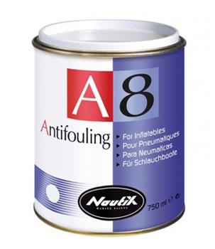 Antifouling für Schlauchboote – NAUTIX A8