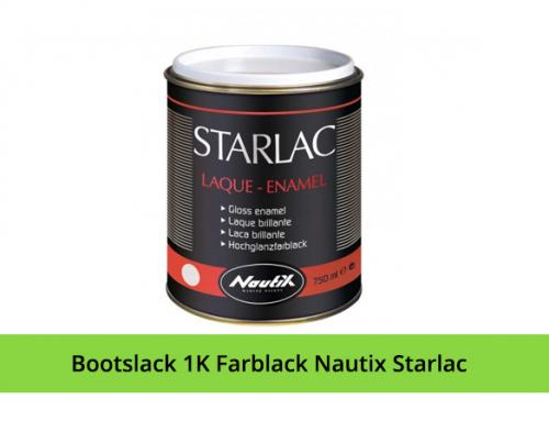 Bootslack 1K Farblack Nautix Starlac