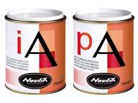 Grundierung 1K Korrosionsschutz für Kiele & Metalle Nautix IA PA