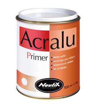 Grundierung 2K Ätzprimer für Aluminium, Zink, Bronze und Blei Nautix Acralu
